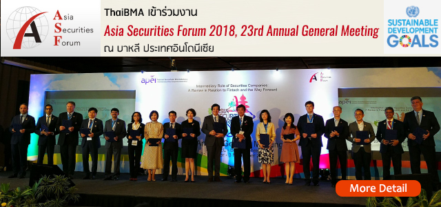Asia Securities Forum 2018